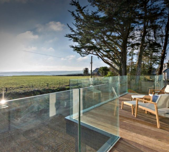 Frameless Glass Balustrade Cornwall