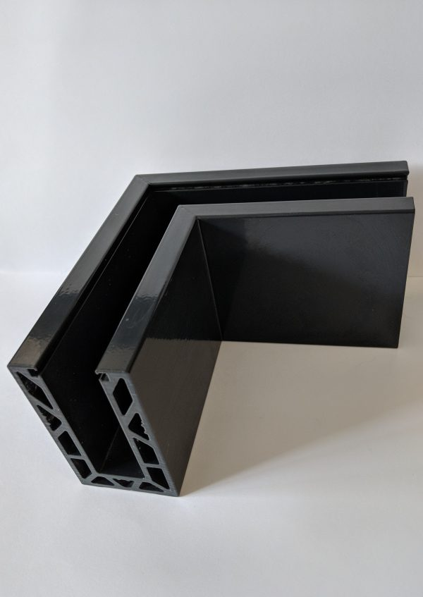 aluminox Solus frameless balustrade powdercoated