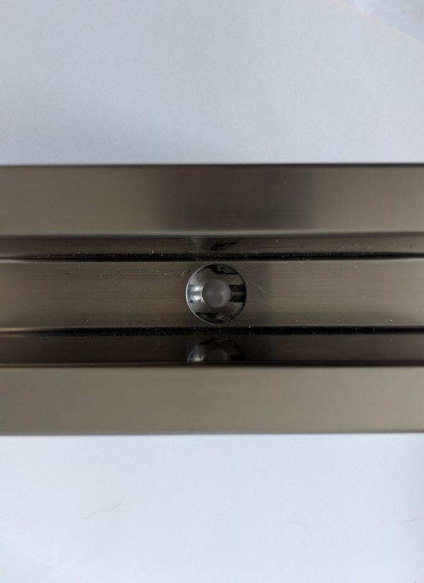 aluminox location of drill holes with solus frameless glass balustrade channel