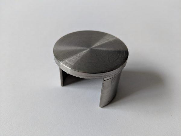 aluminox slotted handrail end cap