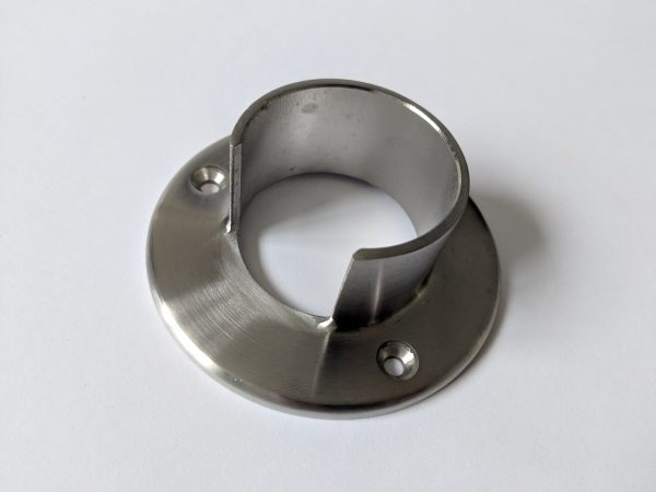 aluminox 42mm slotted handrail , wall bracket ,