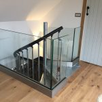 Frameless glass balustrade in scotland
