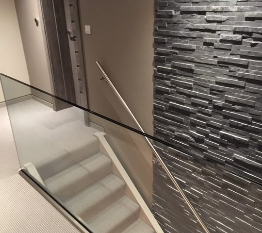 Frameless Balustrade No Handrail